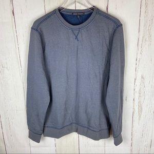 Robert Barakett | Grey Blue Crewneck Sweatshirt